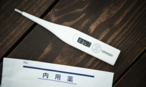 体温計と薬