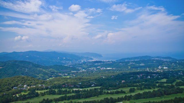 大室山からの景色